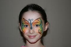 ©Libellula Kinderschminken Köln - Schmetterling