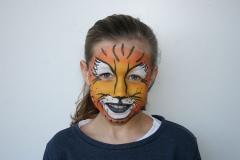 ©Libellula Kinderschminken Köln - Tiger
