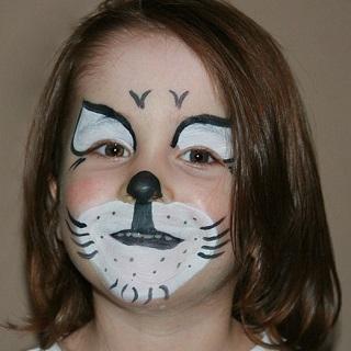 ©Libellula Kinderschminken - Junge als Katze geschminkt Katze-320x320