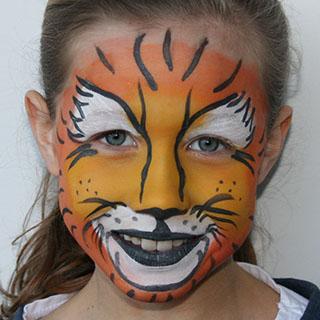 © Libellula Kinderschminken - Tiger