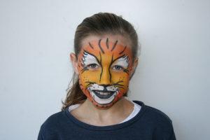 ©Libellula Kinderschminken - Tiger